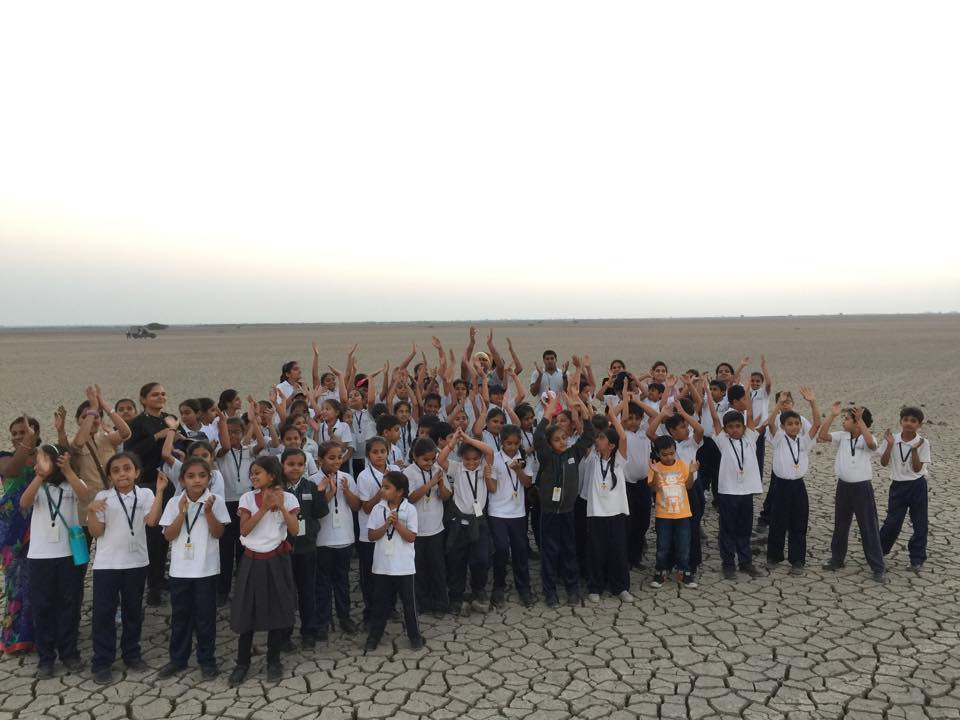 Educational tour Little Rann of Kutch | 2014-15