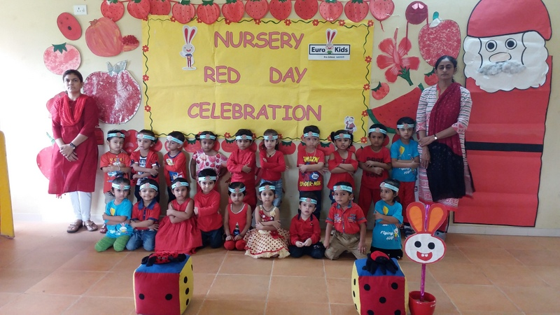 Red Colour Day Celebration | Nursery | 2018
